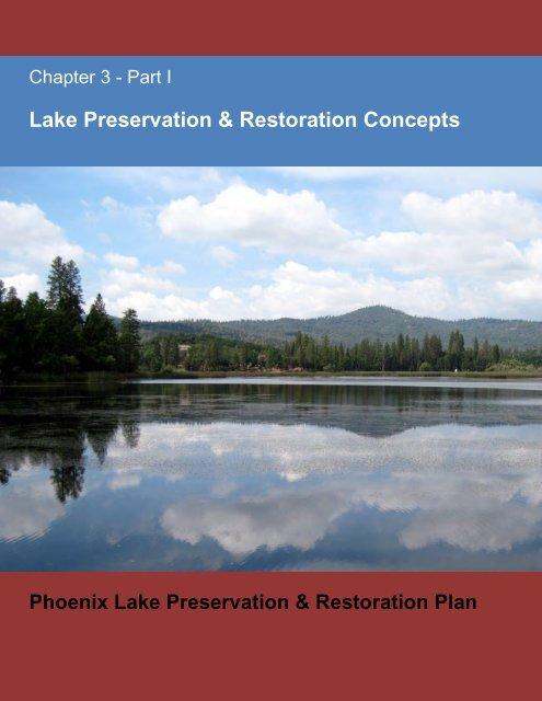 Lake Preservation & Restoration Concepts - Tuolumne Utilities District