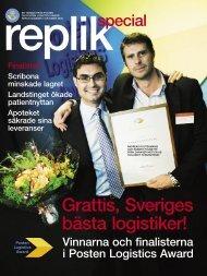 Grattis, Sveriges bästa logistiker! - Posten