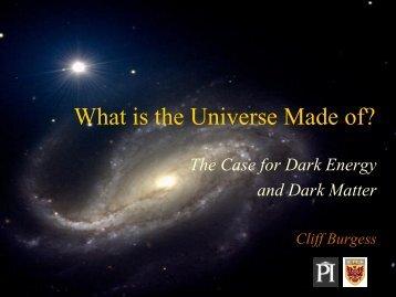 Dark Matter - McMaster Physics and Astronomy