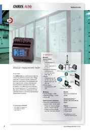 Multifunction Meter- Diris A10 - IPD ...The