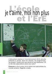 L'école et l'ErE - Réseau IDée