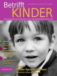 Betrifft Kinder - Wassilios E. Fthenakis