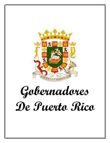 ver gobernadores de puerto rico - Rafaelhernandezcolon.org
