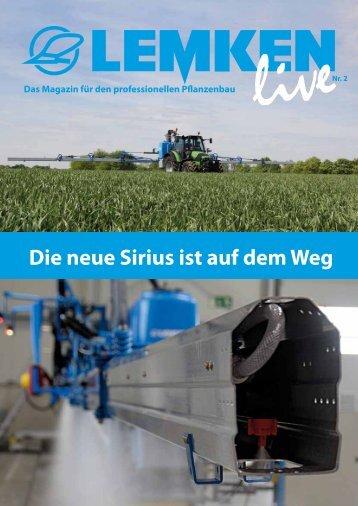 LEMKEN Live - Blau wirkt auf der Agritechnica 2013