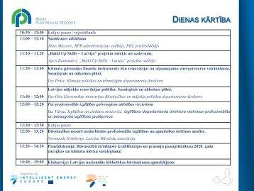 """""""Build Up Skills – Latvija"""" projekta mērķis un uzdevumi - Rīgas ..."""