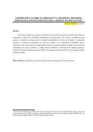 geopolítica e forças armadas na amazônia - Plataforma Democrática