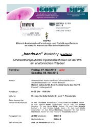 """hands-on"" Workshop (eintägig) - igost"