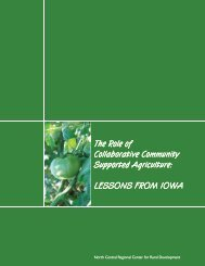 The Role of Collaborative Community Supported Agriculture ...