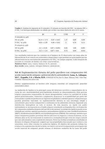 Suplementación dietaria del pollo parrillero con componentes del ...