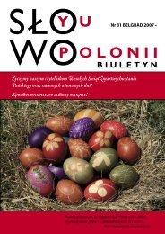 Życzymy naszym czytelnikom Wesołych Świąt Zmartwychwstania ...