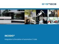 INCODIO - SYSTECS Informationssysteme GmbH