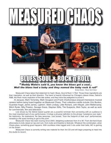 Previous Performances - Measured Chaos