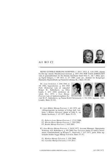 A11 B13 C2 A11 B13 C2 - Lauegaardsfamilien