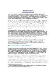 Información Básica - Ministerio de Medio Ambiente