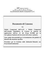 Documento di Consenso Medici Competenti