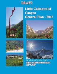 Little Cottonwood - Planning and Development - Salt Lake County