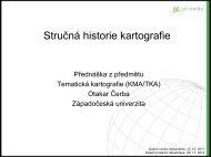 Stručná historie kartografie