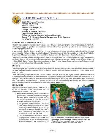 Honolulu Board of Water Supply