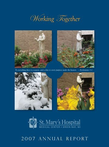 Working Together - St. Mary's Hospital