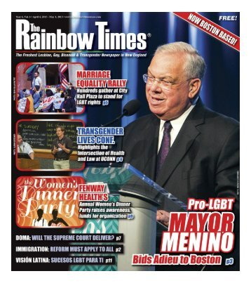 april 2013 - The Rainbow Times