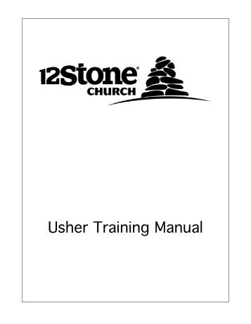 Usher Training Manual - Dan Reiland