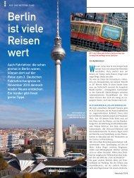 Berlin ist viele Reisen wert