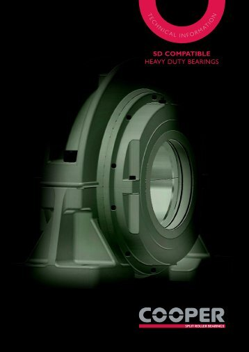 SD HD Bearings mini Catalogue - Cooper Bearings