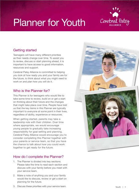 Download the PDF - Cerebral Palsy Alliance