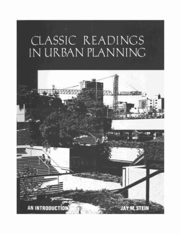 Classic Readings in Urban Planning - Anne Whiston Spirn