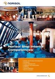 Norisol Ship Interior Competences