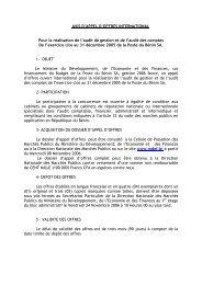 Poste du Bénin SA - Ministère de l'économie et des finances