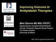 Antiplatelet Therapies