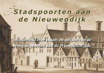 Stadspoorten aan de Nieuwendijk - theobakker.net