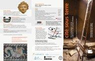 flyer de l'exposition