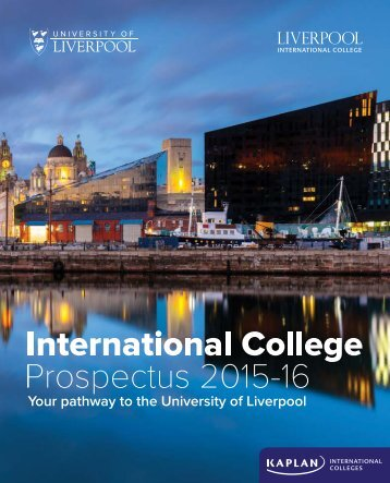 Download the LIC prospectus - Kaplan International Colleges
