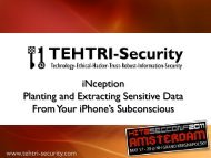 iNception ! Planting and Extracting Sensitive Data From Your ...