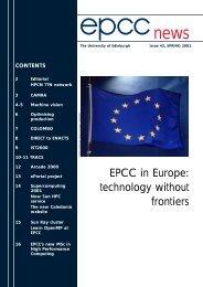 epcc news 42 TO PRINT - EPCC - University of Edinburgh