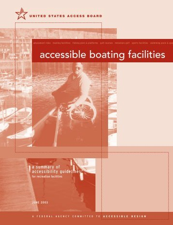 accessible boating facilities - United States Access Board