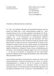 Vortrag von Dr. Herbert Schnell - DGBV