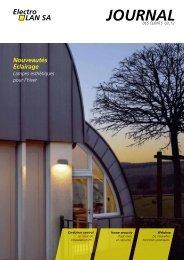 3ème édition 2012 - Nouveautés Eclairage - ElectroLAN SA