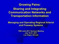 Growing Pains:Sharing and Integrating Communication Networks ...