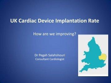 UK implantation rate audit