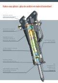 Marteau hydraulique - Brochure - Bobcat.eu - Page 3