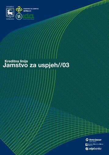 """kreditnu liniju """"Jamstvo za uspjeh 03"""" - IDA"""
