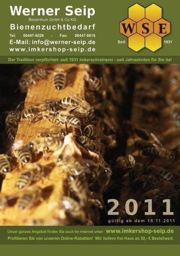 zum Katalog (.pdf) - Werner Seip