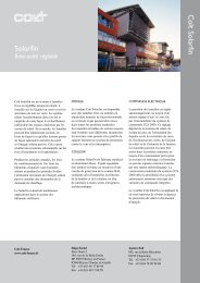 Documentation Solarfin Fiche produit Solarfin - dthX