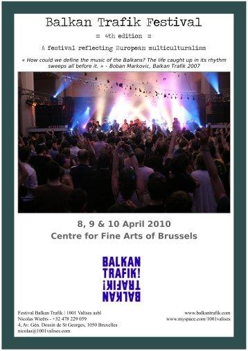 Balkan Trafik Festival - CEE Trust