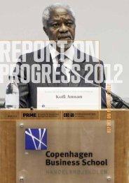 report on progress 2012 - CBS OBSERVER