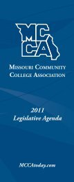 2011 MCCA Legislative Recommendations - Ozarks Technical ...