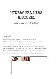 Syllings historie - Lier kommune